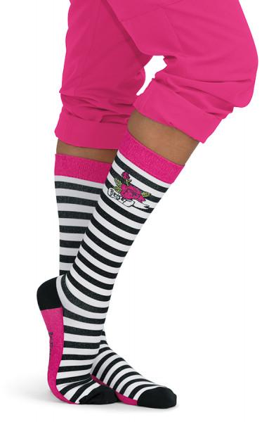 Chaussettes de contention Koi Betsey Stripe - Edition Limitée Betsey Johnson