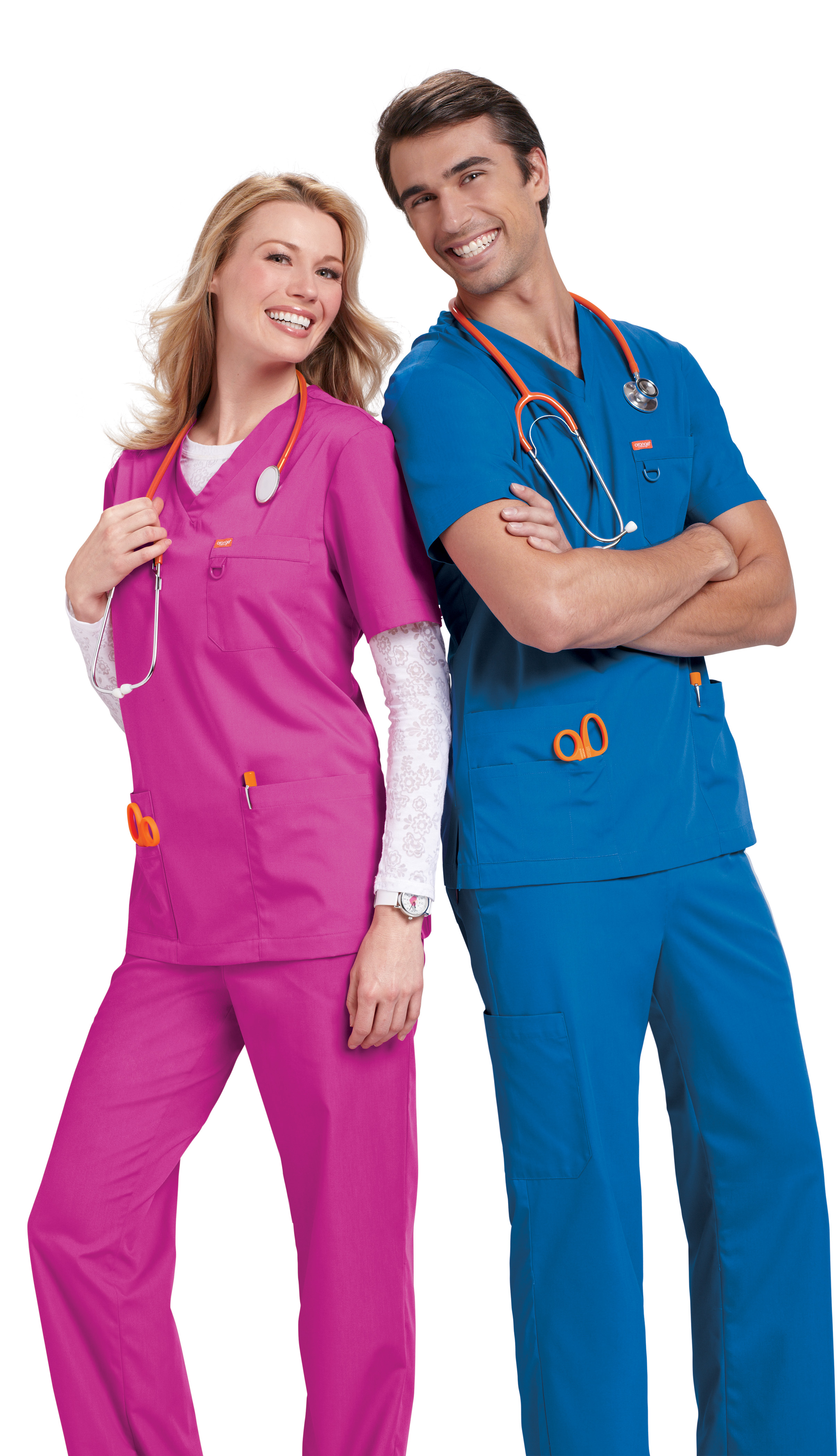 tenue-dentiste-orange-standard-unisex-1