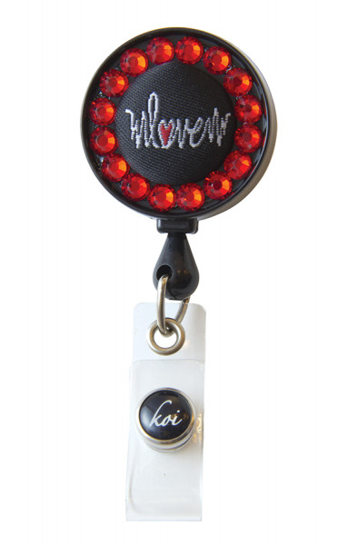 Porte-Badge Koi - Heartbeat Love