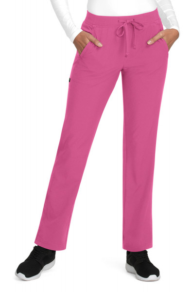 Pantalon médical femme Planet Koi Nova Rose Terra devant