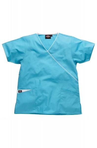 Blouse médicale Dickies cache-coeur