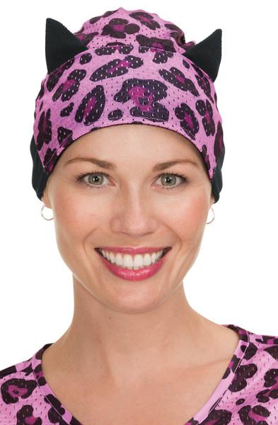 Koi Scrub Hat Cheetah Chiquita