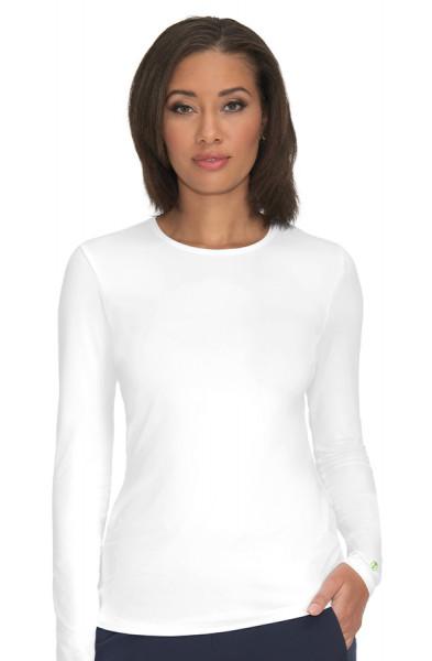T-shirt médical femme Bien-être Planet Koi blanc