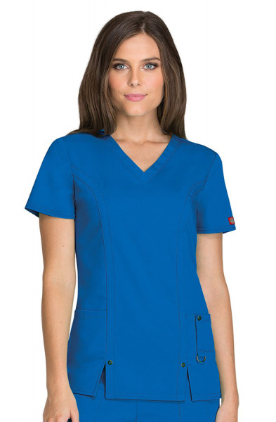 Dickies Xtreme Stretch Scrub Top Royal
