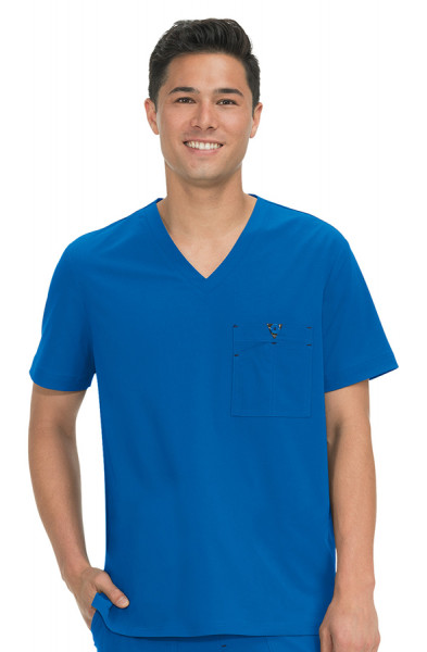 Koi Basics Men's Scrub Top